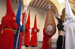 santa semana Hiszpanii Zdjęcia Royalty Free