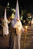 Santa Semana Procession, Seville. Royalty Free Stock Photography