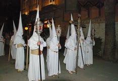 Santa Semana Procession, Seville. Stock Photos