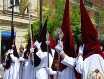 Santa Semana Procession, Seville. Royalty Free Stock Image