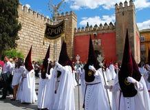 Santa Semana Procession, Seville. Royalty Free Stock Photo