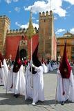 Santa Semana Procession, Seville. Stock Images