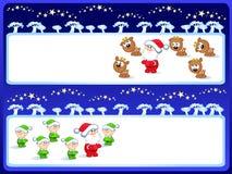 Santa-set Stock Photo