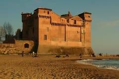 Santa Severa Castle Photographie stock libre de droits