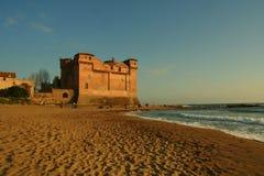 Santa Severa Castle Images libres de droits