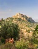 Santa Severina i Calabria, Italien Fotografering för Bildbyråer