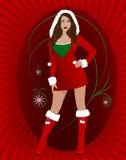 Santa sexy Photo libre de droits