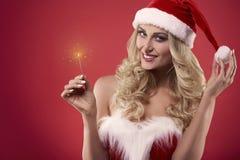 Santa 'sexy' fotos de stock royalty free