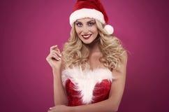 Santa sexy Fotografia Stock