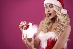 Santa sexy Immagini Stock