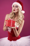 Santa sexy Fotografia Stock Libera da Diritti
