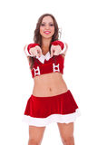 Santa vous choisissant Photographie stock