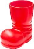 Santa Shoe royalty free stock image