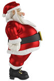 Santa side view Stock Images