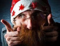 Santa sign Royalty Free Stock Photos