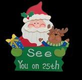 Santa sign Royalty Free Stock Images