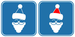 Santa - sign, symbol Royalty Free Stock Photography