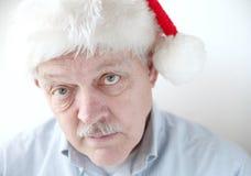 Santa simpática Imagens de Stock