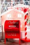 Santa skrzynka pocztowa Obrazy Royalty Free