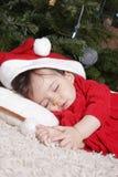 Santa sleeping Stock Photos