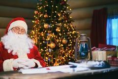 Santa sleeping Royalty Free Stock Photos