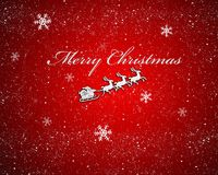 Santa with sleigh. Stock Images
