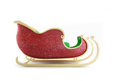 Santa Sleigh 3d Illustrations Stock Photo