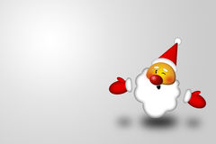 Santa smile Royalty Free Stock Image