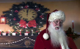 Santa Smiling Stock Photos