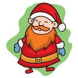 Santa smilling Christmas character stock. Vector art Stock Image