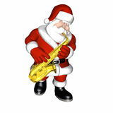 Santa - Smooth Jazz 1 Royalty Free Stock Images