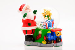 Santa Snow Globe Stock Images