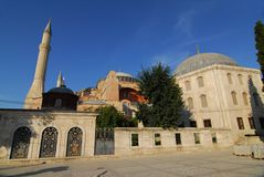 Santa Sofia in Istanbul Royalty Free Stock Photo