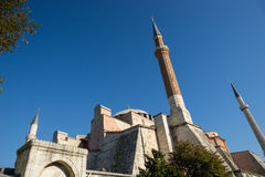 Santa Sofia in Istanbul Royalty Free Stock Photos