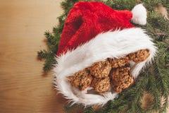 Santa& x27; sombrero de s Imagen de archivo