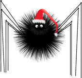 Santa Spider Royalty Free Stock Photo