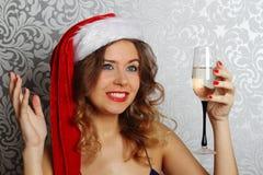 Santa stående Royaltyfria Bilder