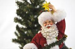 Santa with star Stock Photos