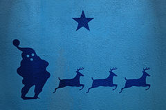 Santa Star Imagem de Stock