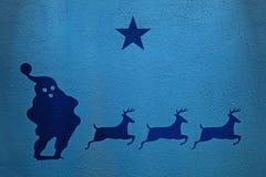 Santa Star Stock Image