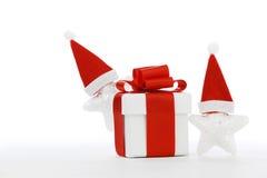 Santa Stars Royalty-vrije Stock Fotografie