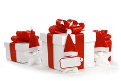 Santa Stars Royalty-vrije Stock Afbeeldingen