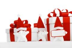 Santa Stars Stock Foto