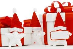 Santa Stars Royalty-vrije Stock Foto