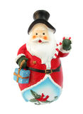 Santa statue Stock Image