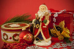 Santa Still life Royalty Free Stock Image