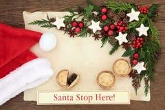 Santa Stop Here Royalty Free Stock Image