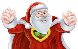 Santa Super Hero Imagen de archivo libre de regalías