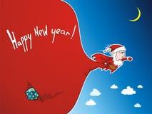 Santa superbe 2 Images libres de droits