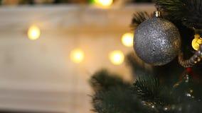Santa sur Noël banque de vidéos